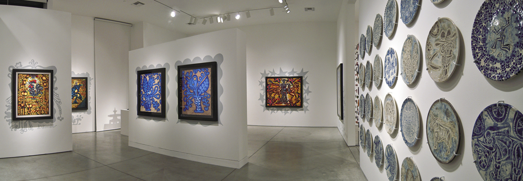 Carlos Luna: Los Decorados; Heather James Fine Art, Palm Desert, CA, 2011