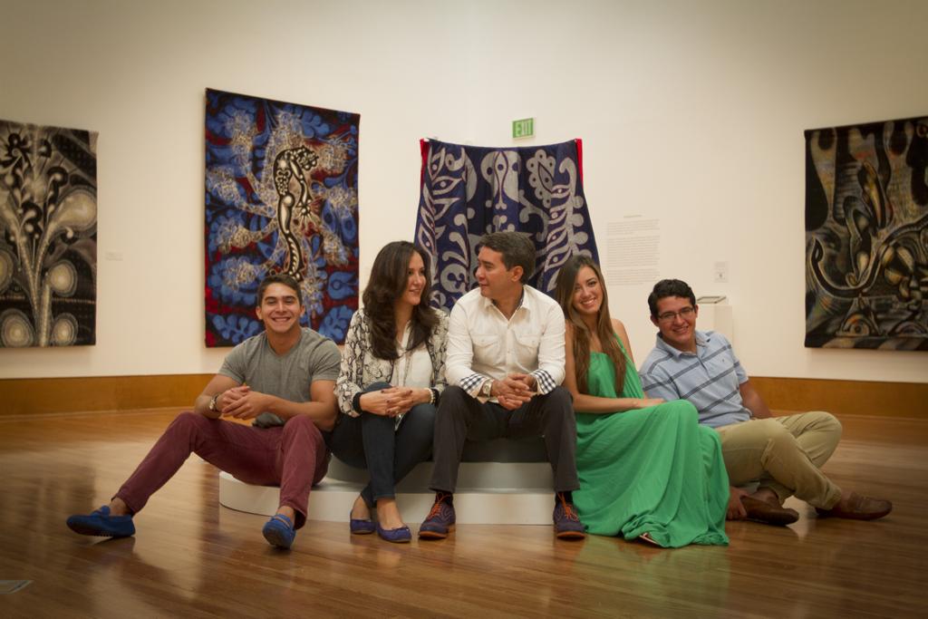 The Luna family, 2015