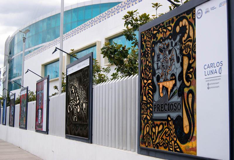 Public Art Project; Zócalo, Fiscalía, Panteón, Puebla, Mexico