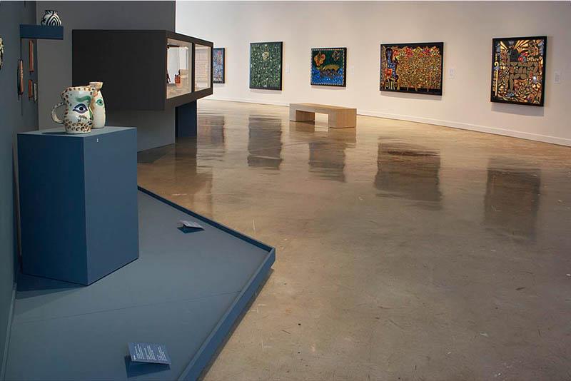 Pablo Picasso Ceramics | Carlos Luna Paintings; Museum of Art | Fort Lauderdale, Fort Lauderdale, FL