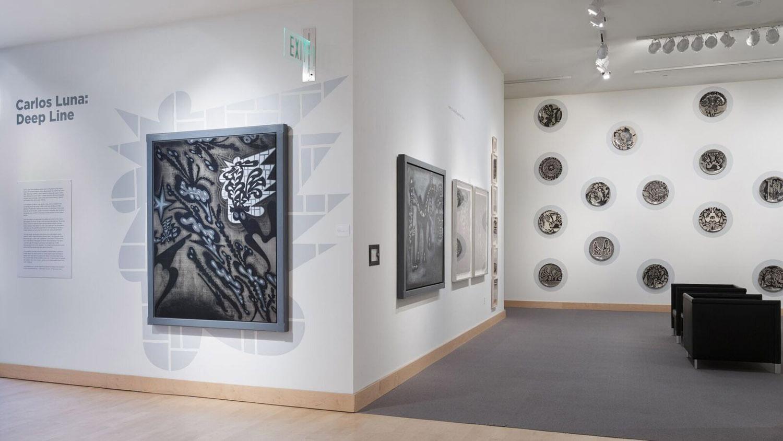 Deep Line, Drawings by Carlos Luna; Boca Raton Museum of Art, Boca Raton, FL, 2017