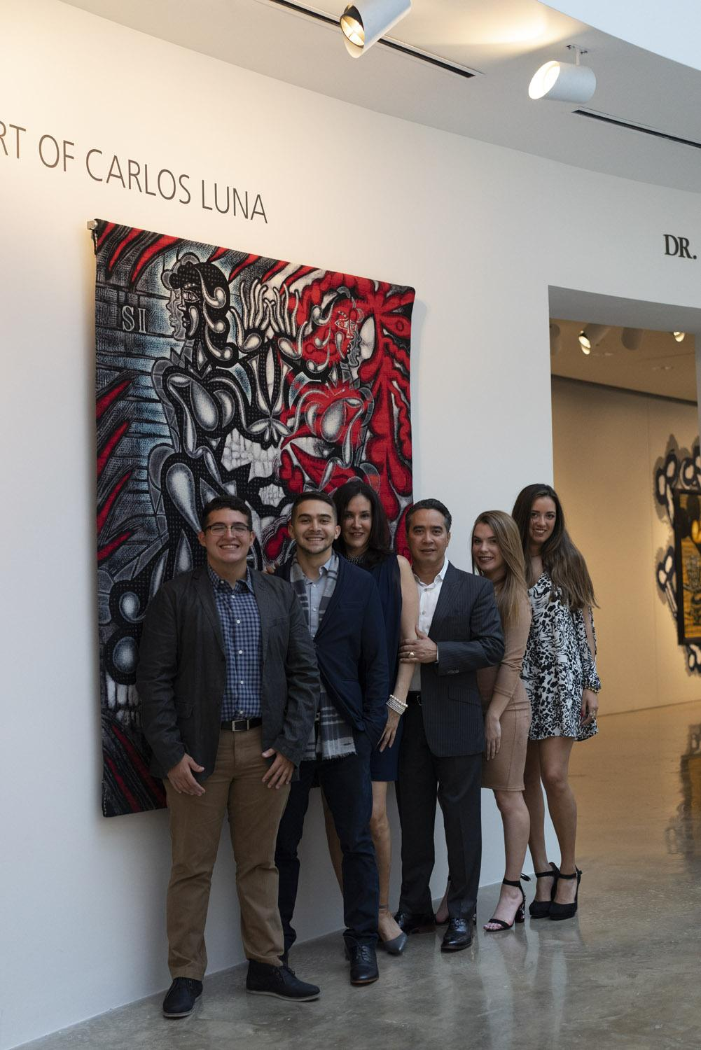 Green Machine: The Art of Carlos Luna; American University Museum, Washington, DC, 2017