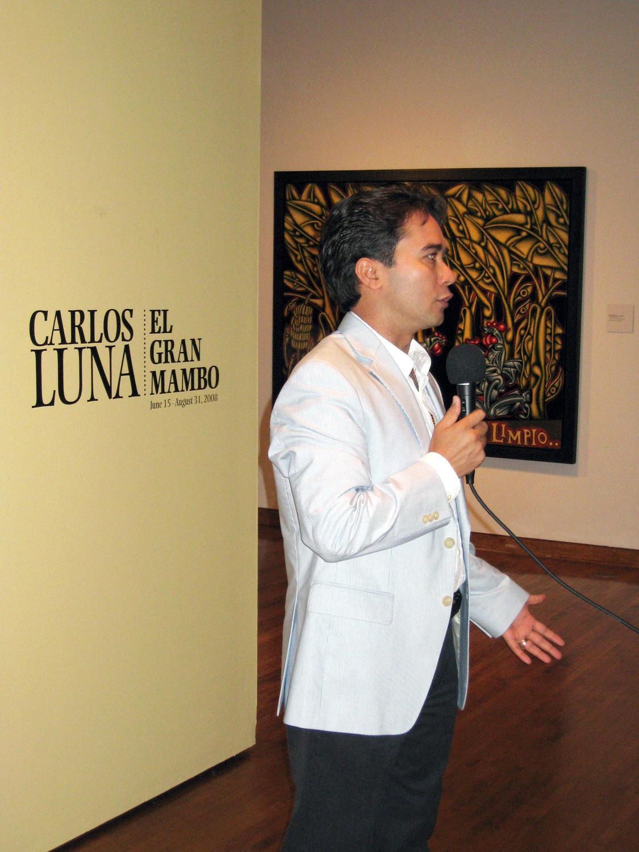 Carlos Luna: El Gran Mambo; Museum of Latin American Art – Molaa, Long Beach, CA, 2008