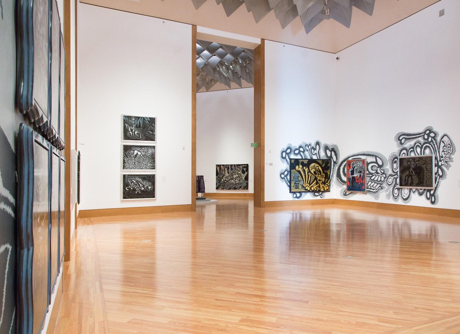 Green Machine: The Art of Carlos Luna; Frost Art Museum, Miami, FL, 2015