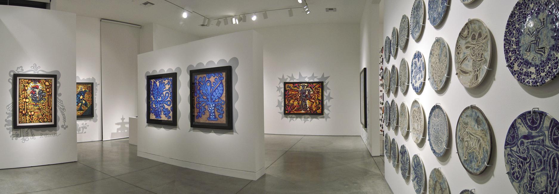 Carlos Luna: Los Decorados; Heather James Fine Art, Palm Desert, CA, 2011