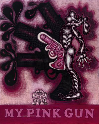 My pink gun